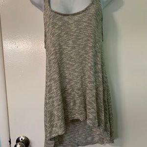 Painted threads szM knit tank hi-low